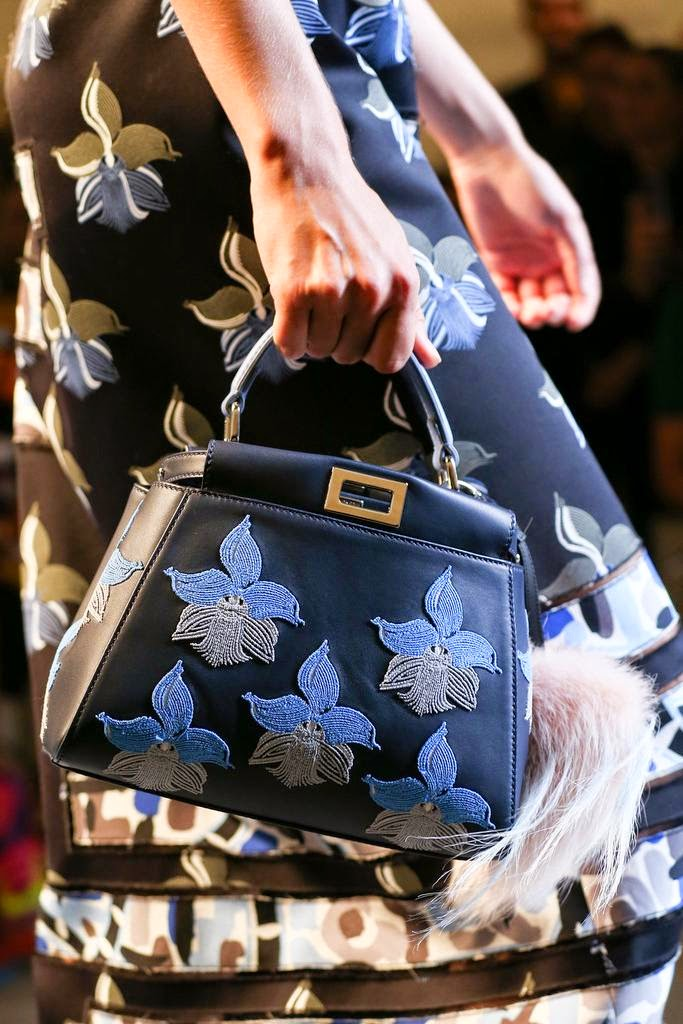 #MFW: Fendi Spring/Summer 15 Bags Report