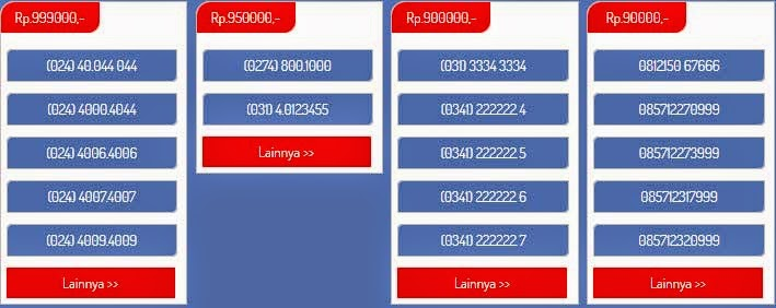 Jual Nomor Cantik Telkomsel ( simpati, AS ), Indosat (Mentaru, Im3), XL, Axis, Three