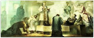 A Morte de São Luiz Gonzaga, Aldo Locatelli, Catedral de Novo Hamburgo
