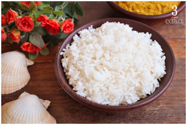 arroz coco como fazer