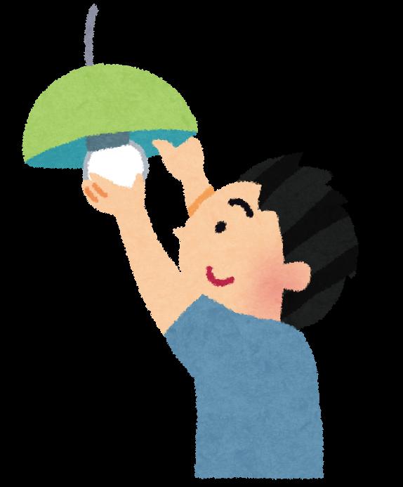 「電球取替イラスト」の画像検索結果