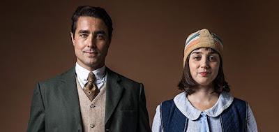 Almeida (Ricardo Pereira) e Clotilde (Simone Spoladore): separados pelo peso do preconceito