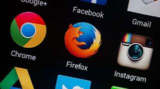 Aplikasi Mozilla. [Shutterstock] updetails.com