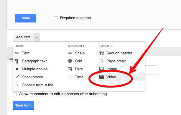 Teachers Visual Guide to Adding Videos to Google Forms | Educational ...