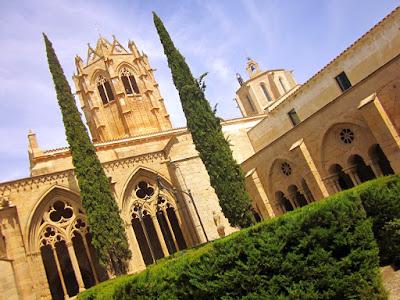 Claustro del monasterio de Vallbona de les Monges