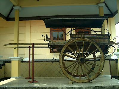 Museum Cakraningrat Bangkalan PIR (Sarana Transportasi Umum)