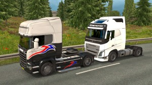 Volvo 2012 as trailer