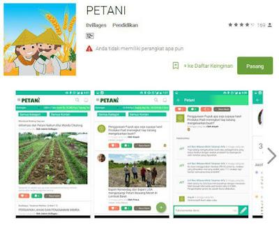 Aplikasi Petani di PlayStore