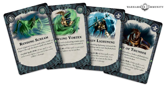 Cartas hechizos Nightvault