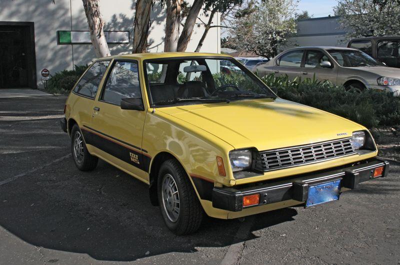 Just A Car Geek: 1980 Dodge Colt RS