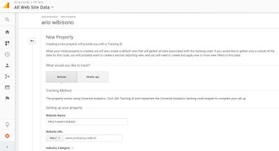 Cara Daftar Dan Memasang Google Analytics Pada Blog terbaru
