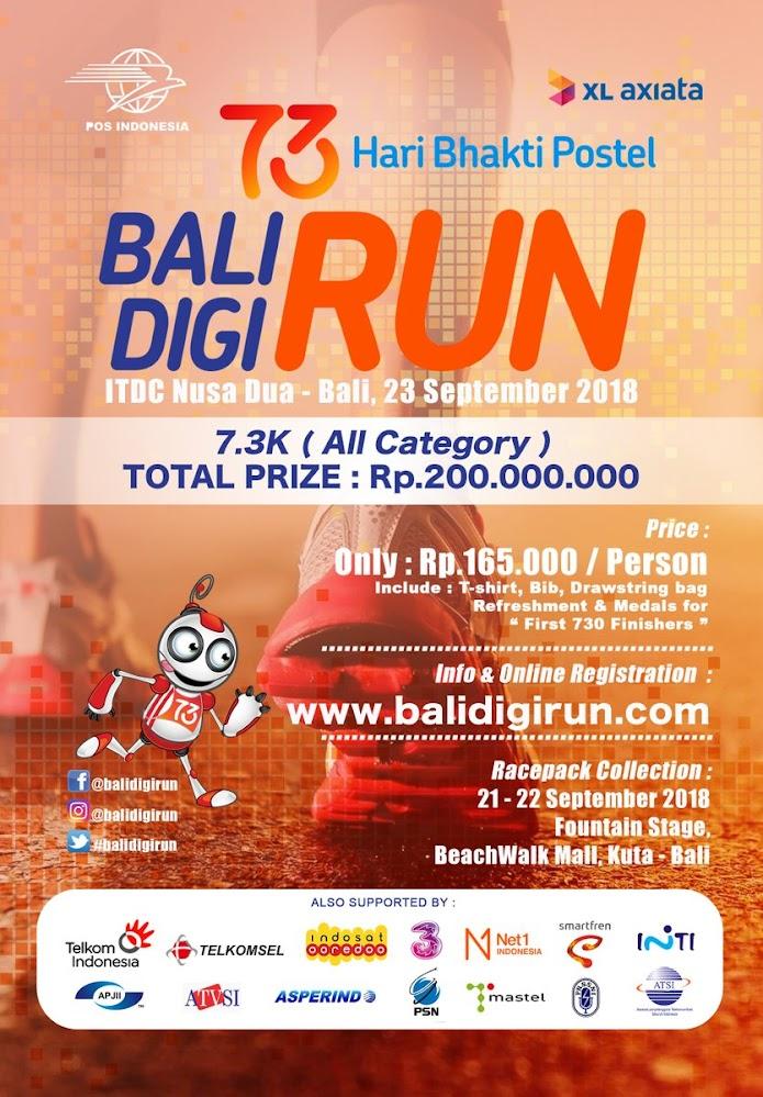 Bali Digi Run • 2018