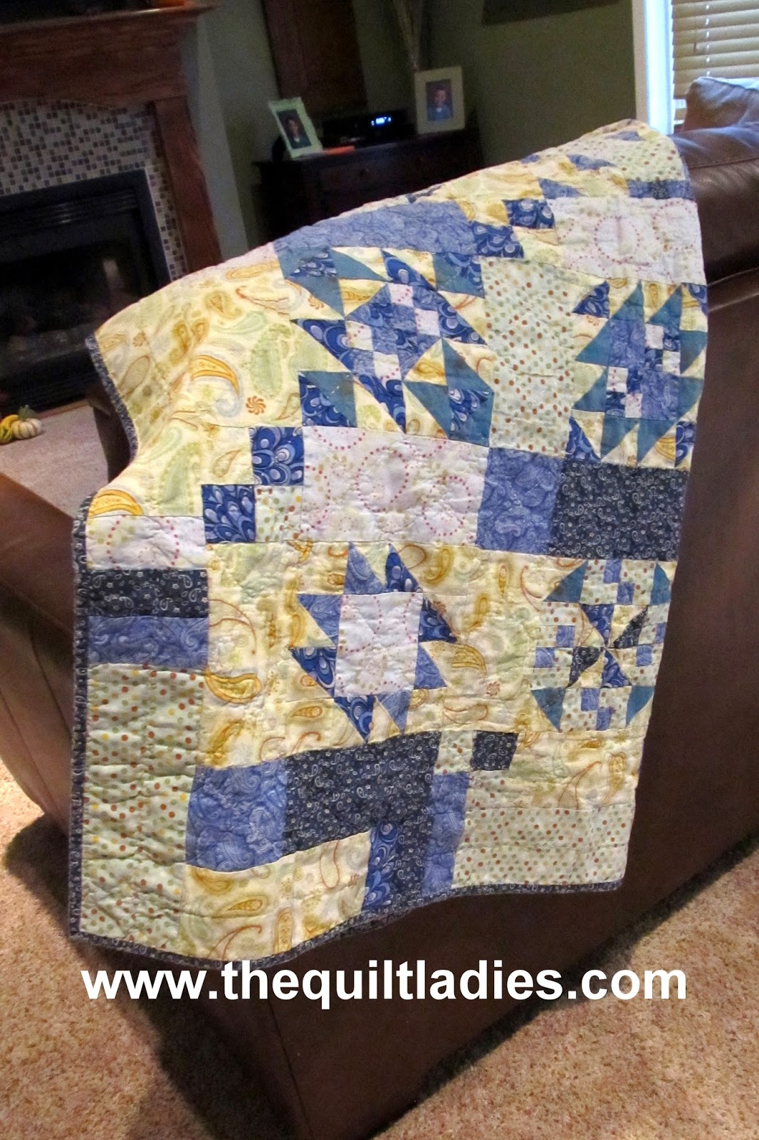 how to make a quilt by The Quilt Ladies