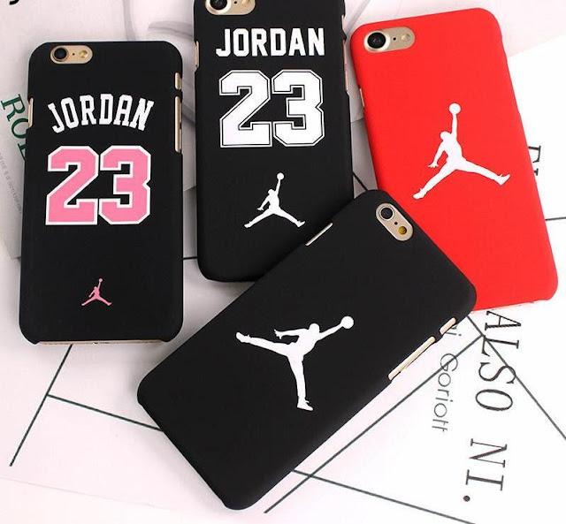 Slim Hard Plastic Michael Jordan Matte iPhone Case