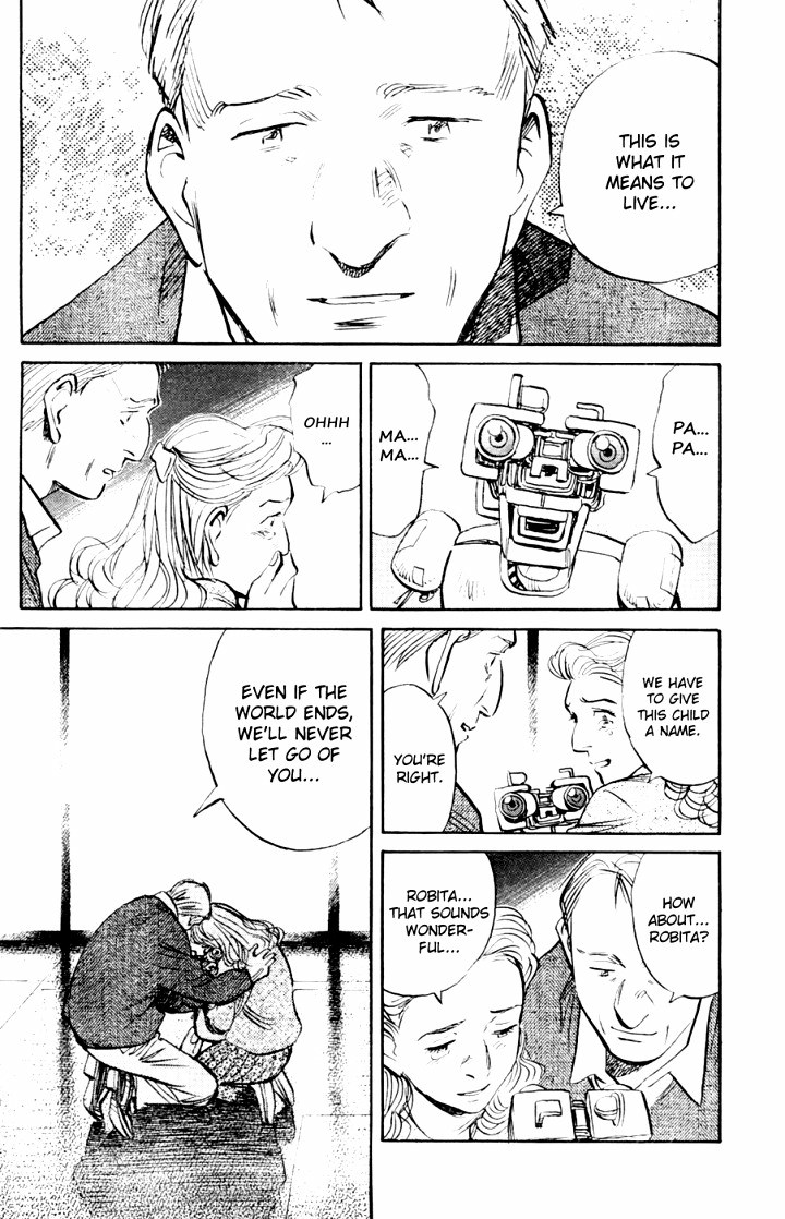 Page 11, Act 65: World's Strongest Robot from Naoki Urasawa's Pluto Volume 8