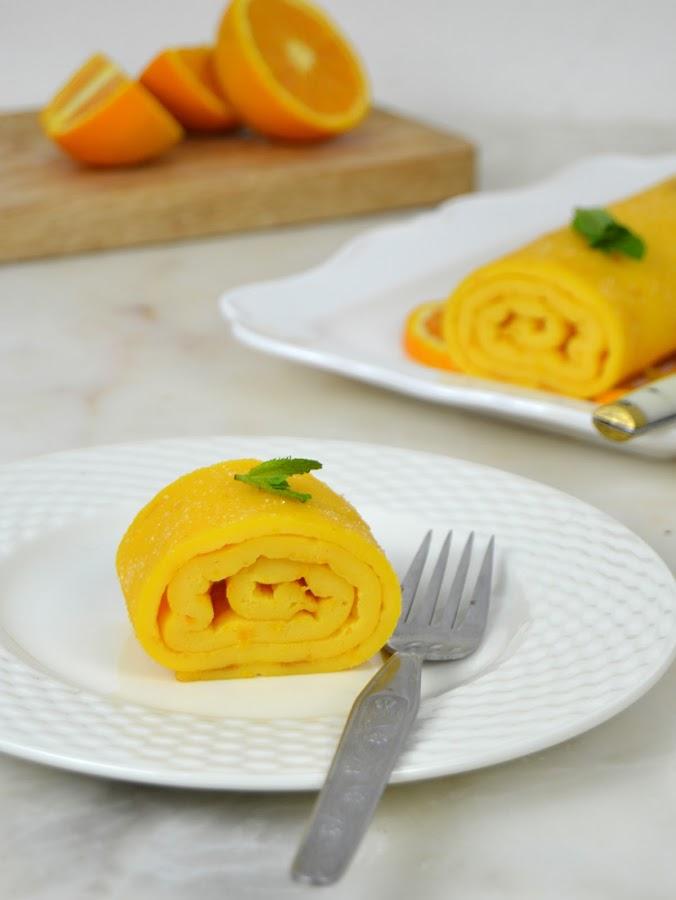 Enrollado de naranja portugués