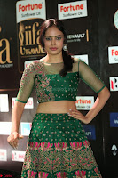 Nandita Swetha in a tight Green Choli Ghagra at IIFA Utsavam Awards March 2017 ~ 073.JPG
