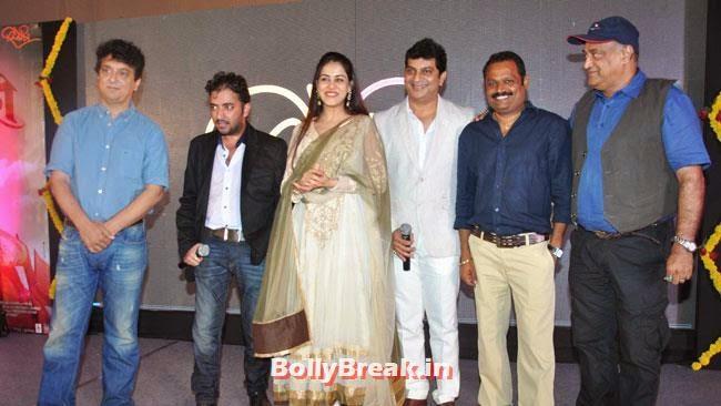 Music Launch of Marathi Film Lai Bhari, Genelia D'Souza Baby Bump Pictures