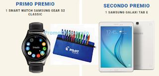 Logo Gioca gratis con Pilot e vinci Tablet, Smart Watch Samsung e astucci e non solo