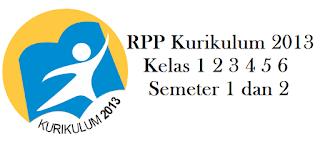 Download RPP Kurikulum 2013 Kelas 1 2 3 4 5 6 Semeter 1 dan 2