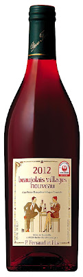 JAL will be serving 2012 Beaujolais Villages Nouveau on Beaujolais Nouveau Day