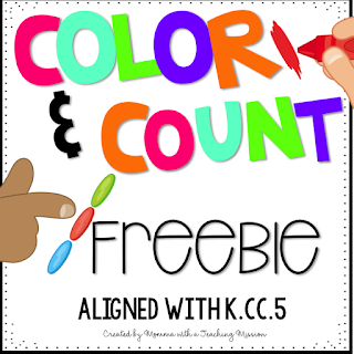 https://www.teacherspayteachers.com/Product/Freebie-Color-and-Count-Cardinality-Printables-3028841