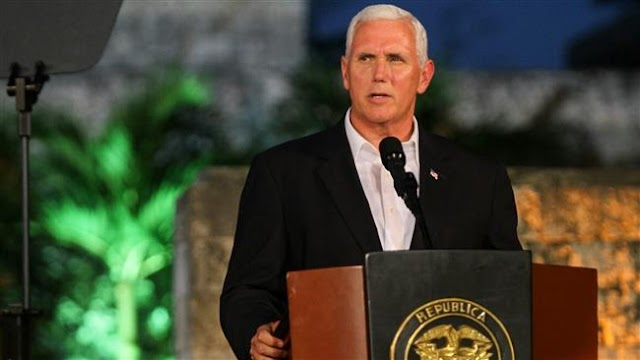 US Vice President Mike Pence 'not aware' of any Russia-Trump collusion