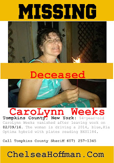 What happened to CaroLynn Weeks? NY woman missing for one week