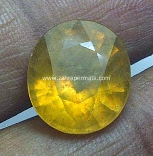 Batu Permata Yellow Saphire - ZP 444