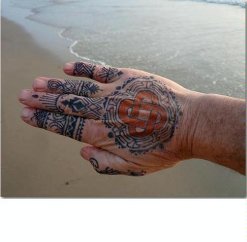 Jagua Tattoo: EARTH HENNA Jagua Black Temporary Tattoo Kit