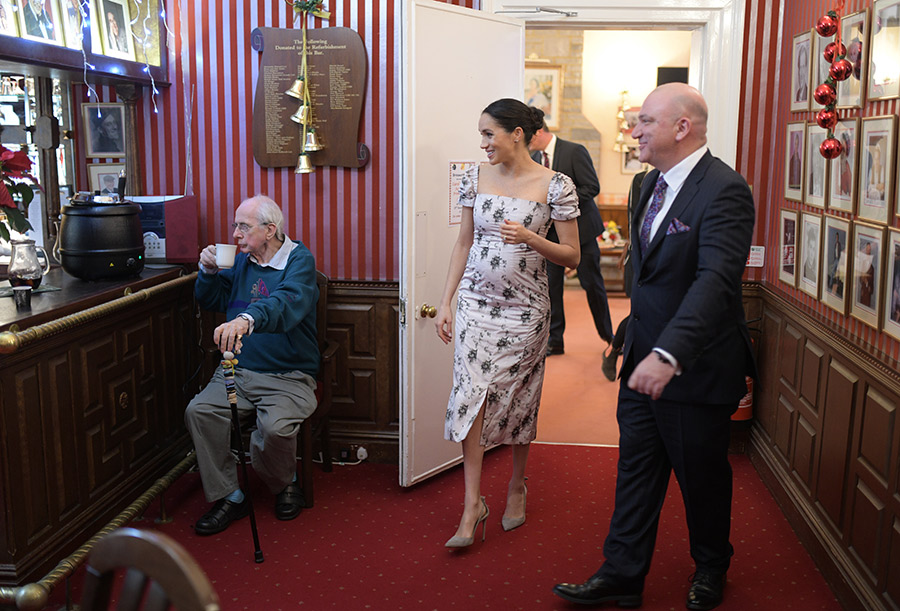 Meghan Markle Visits Brinsworth House