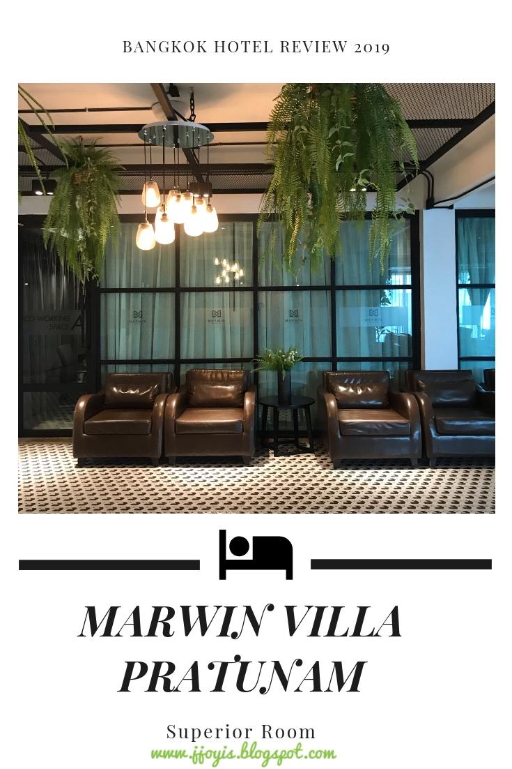 Mawin villa Pratunam hotel review jjoyis bkk recommendations