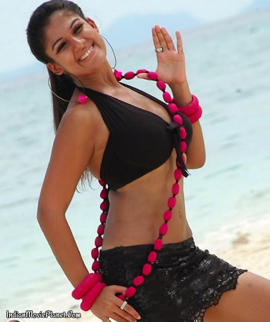 nayan thara hot black bikini images