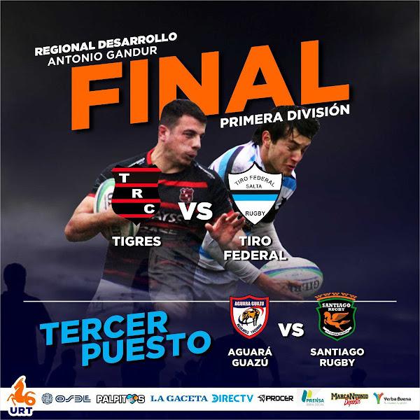 Tiro fEderal y Tigres definen el campeón del Regional Desarrollo