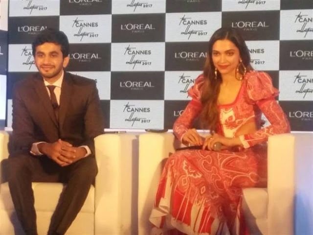 Deepika Padukone Unveils L Oreal Paris Cannes Collection 2017