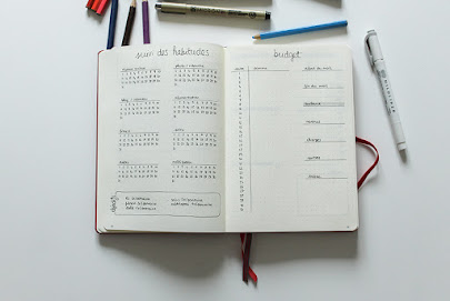 bullet journal janvier bujo habit tracker 2019