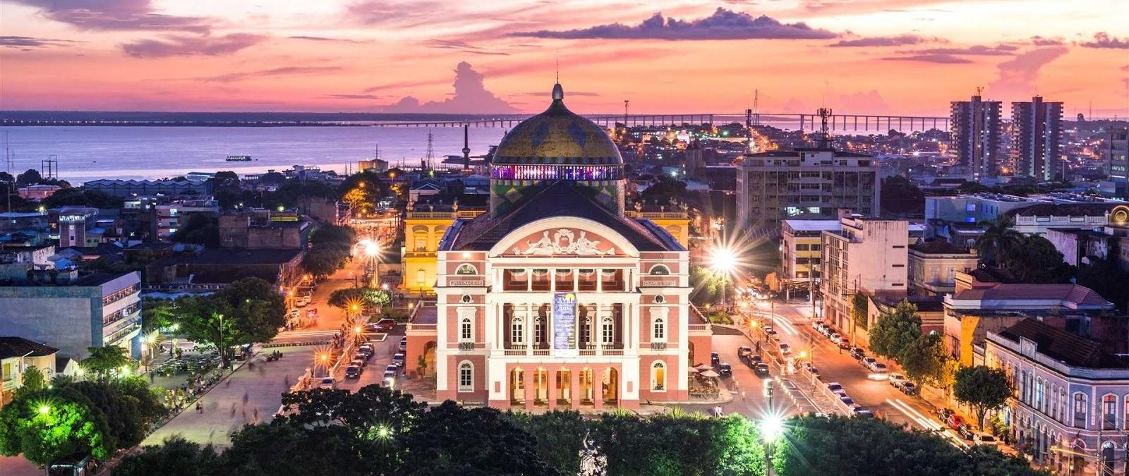 نتیجه تصویری برای Teatro Amazonas