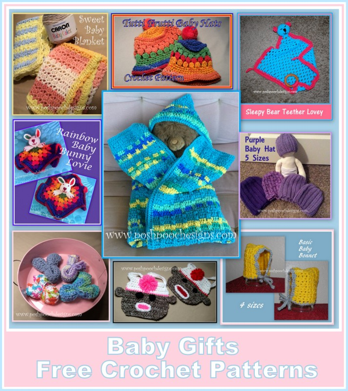 Posh Pooch Designs Dog Clothes Gifts For A New Baby Crochet Pattern