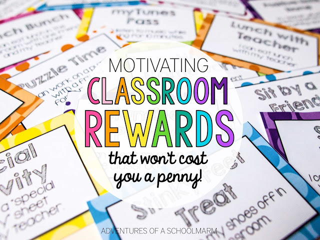 Classroom Reward Ideas That Don T Cost Money : Ideas for classroom management incentives second grade