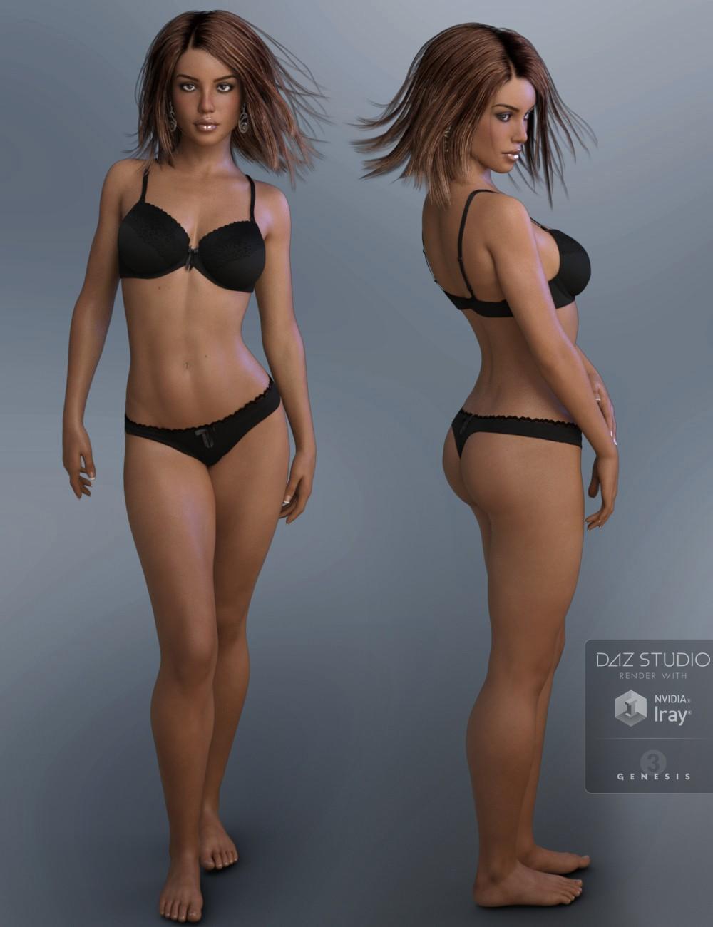 installer des modèles daz studio 4