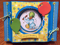 Bugaboo Stamps Birthday Elephant