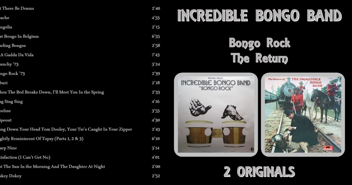 Schnickschnack Mixmax: The Incredible Bongo Band - Bongo Rock & The