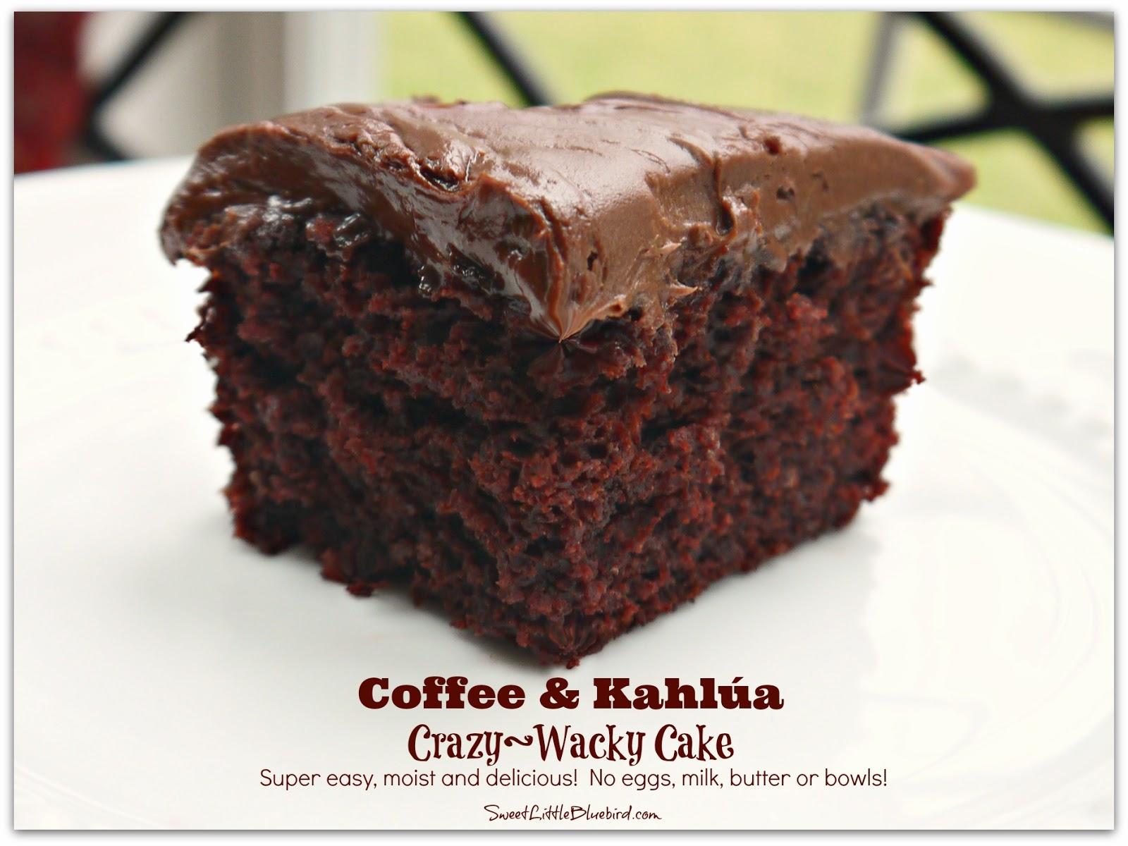 Kahlua Cake Mix Recipe