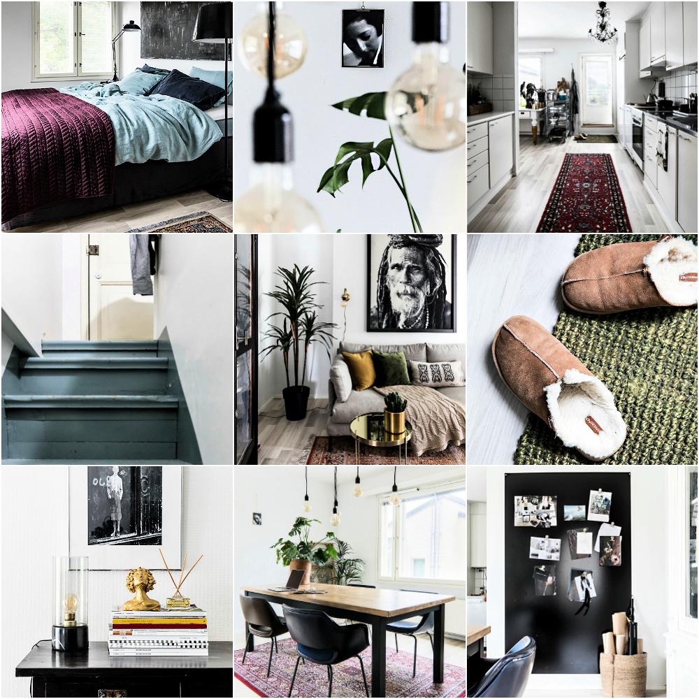 sisustus, sisustaminen, sisustuslehti, Avotakka, Visualaddict, Frida Steiner, valokuvaaja, olohuone, makuuhuone, koti, keittiö, ruokailutila