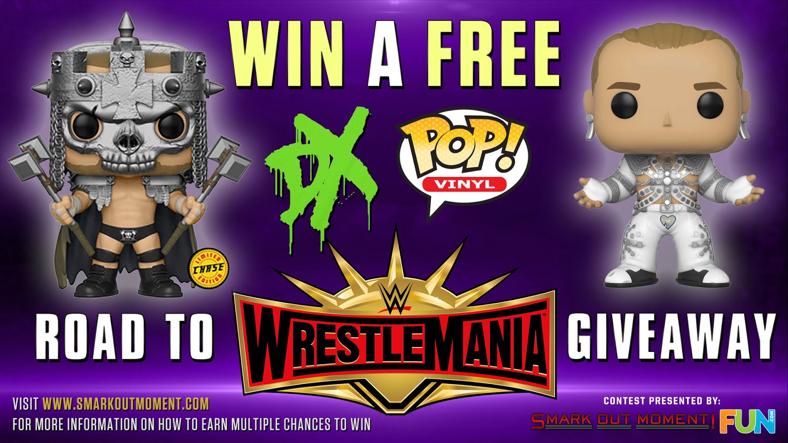 WWE Contest Funko Pop Giveaway