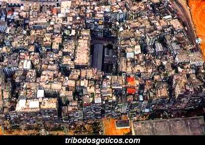 cidade de predios china sem lei