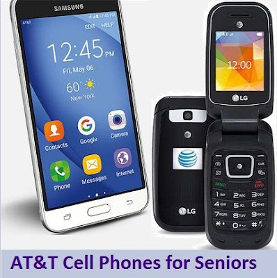att cell phones for seniors