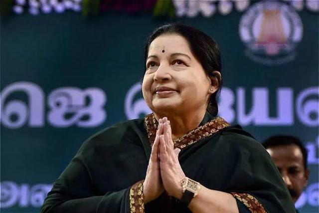 Jayalalithaa, Tamil Nadu Chief Minister,