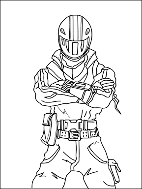 Free Coloring Pages Of Fortnite