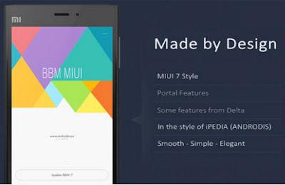 BBM Mod MiUI 7 v2.12.0.9 APK Terbaru